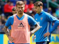 Fedor Smolov stürmt beim Confed Cup für Russland