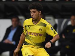 Jadon Sancho hat in Dortmund einen Vertrag bis 2020 unterzeichnet