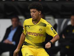 Jadon Sancho konnte mit der U19-Vertretung des BVB keinen Sieg einfahren.
