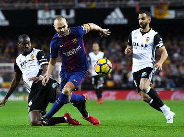 Andrés Iniesta bleibt mit dem FC Barcelona in La Liga ungeschlagen