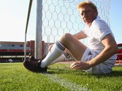 Boris Becker fühlt sich auf Rasen und auf Asche wohl