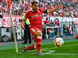 Charalampos Mavrias lief zuletzt für Fortuna Düsseldorf auf