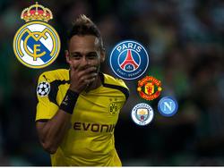 Dortmunds Pierre-Emerick Aubameyang träumt von einem Real-Egagement