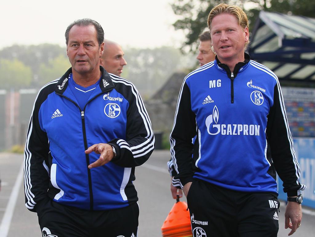 Arbeiteten einst auf Schalke zusammen: Huub Stevens und Markus Gisdol