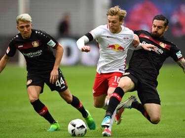 El Leipzig no desatascó el encuentro hasta el minuto 90+4. (Foto: Getty)