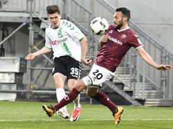 Die Fürther setzten sich denkbar knapp gegen Dynamo Dresden durch