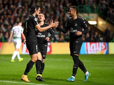 Edinson Cavani (l.) und Neymar (r.) verstehen sich nicht immer so gut