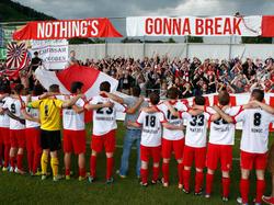 Klub, Spieler und Fans des Grazer AK suchen gemeinsam den Weg nach oben