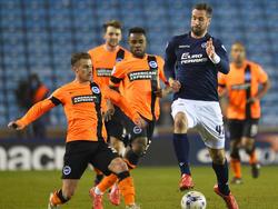 Stefan Maierhofer (r.) und Millwall steigen ab
