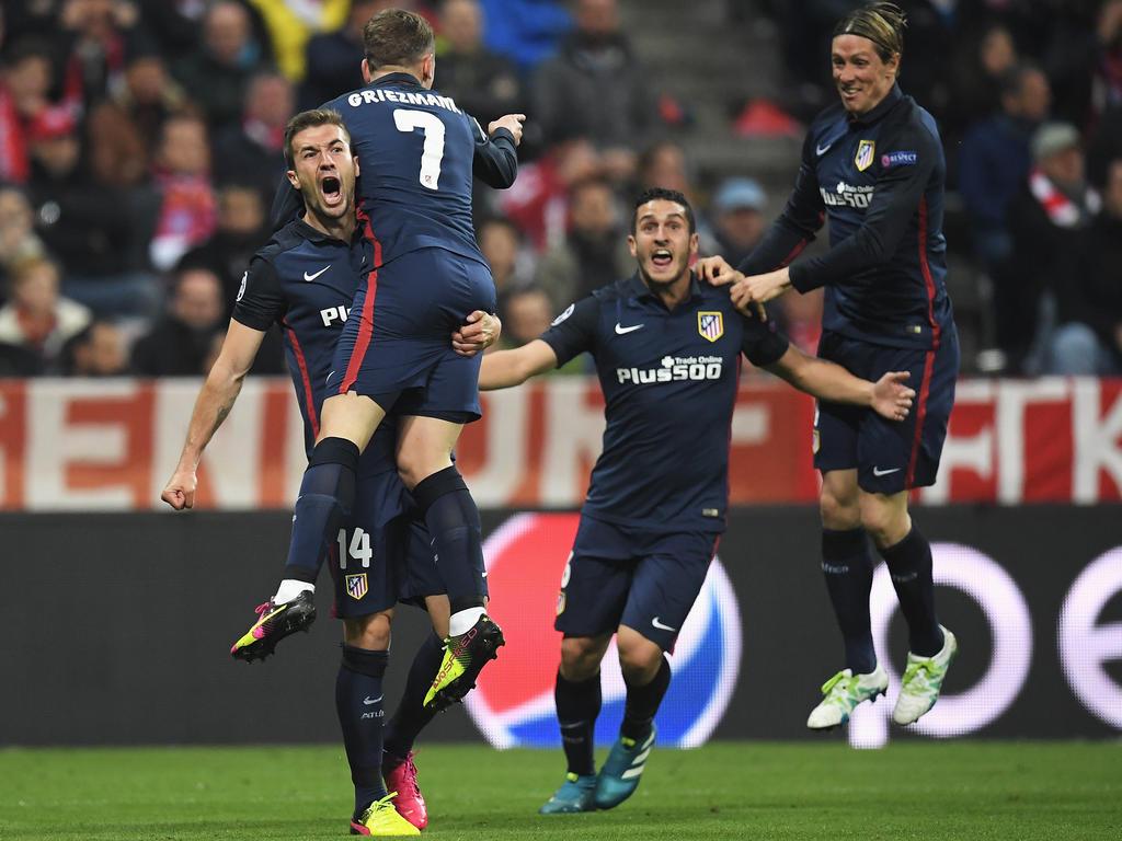 Atlético Madrid bejubelt den nächsten Finaleinzug seit 2014