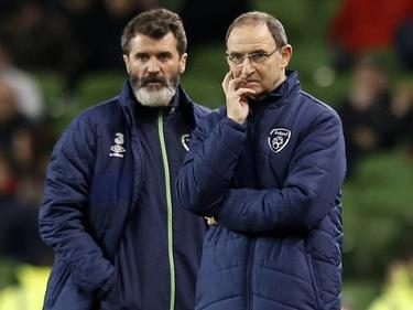 Roy Keane (l.) und Cheftrainer Martin O'Neill sollen Irland zur WM 2018 führen