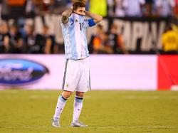 Lionel Messi wurde in der Nationalmannschaft nicht glücklich