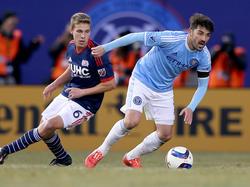 David Villa könnte für kurze Zeit zu seinen Wurzeln in Gijón zurückkehren
