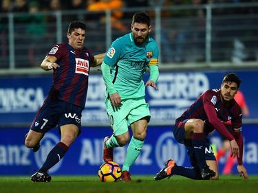 Lionel Messi und der FC Barcelona waren von Eibar nicht zu stoppen