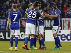 Der FC Schalke steht in der Europa League im Achtelfinale