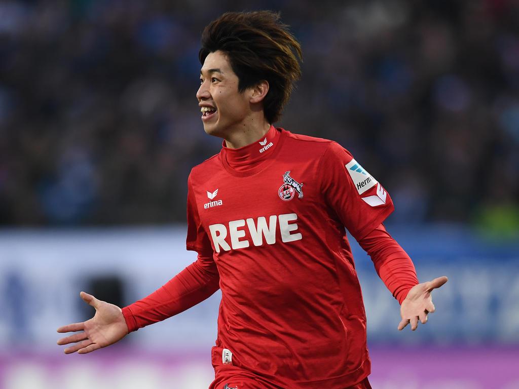 Yuya Osako erzielte in dieser Saison bereits vier Tore für den 1. FC Köln
