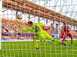 Lars Stindl erzielte gegen Ingolstadt ein hoch umstrittenes Handtor