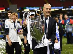 Zidane ganó su segunda Liga de Campeones como técnico en 18 meses. (Foto: Getty)