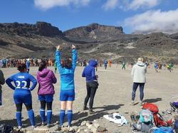 Weltrekord auf dem Kilimandscharo (Bildquelle: FIFA Facebook)