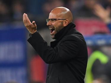 Peter Bosz ist mit der Leistung des BVB nicht zufrieden