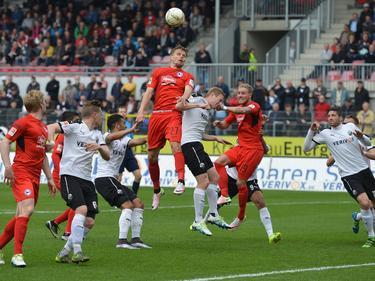 Felix Burmeister erzielt beim SV Sandhausen das 1:0 für Arminia Bielefeld