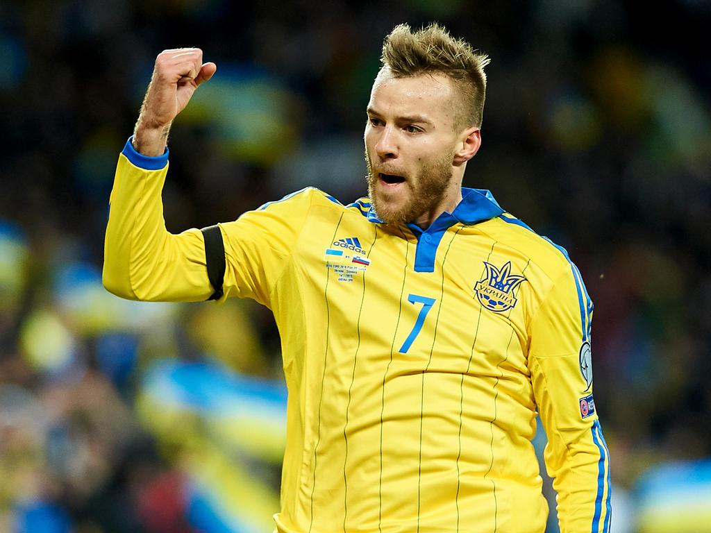 EURO News Yarmolenko Konoplyanka lead Ukraine squad for Euro 2016