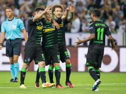 Die Gladbacher feierten einen Kantersieg gegen Bern