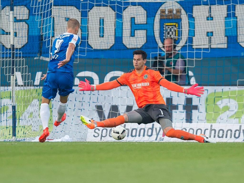 Johannes Wurtz (l.) schoss den VfL Bochum in Führung