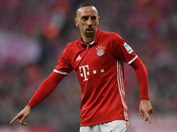 Franck Ribéry gehört mittlerweile zu den Urgesteinen des FC Bayern München