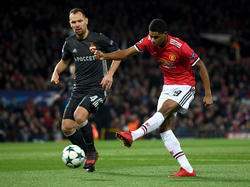 Rashford salvó al United ante el CSKA. (Foto: Getty)