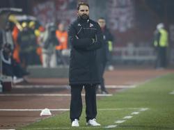 Vor seinem Bundesligadebüt im Fokus: Stefan Ruthenbeck