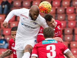 Franck Etoundi musste sich mit dem FC Zürich gegen Sion geschlagen geben