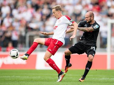 Der FC mit Konstantin Rausch (r.) verlor das Testspiel gegen die Fortuna aus Köln
