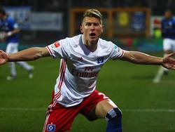 Matthias Ostrzolek erzielte gegen den SV Darmstadt seinen ersten Bundesligatreffer