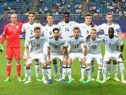 Die deutsche U20 bei der WM in Südkorea