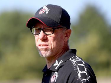 Peter Stöger ist mit der Pokalauslosung nicht gänzlich zufrieden