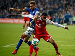Zwei Mal zappelte der Ball im Mainz-Tor