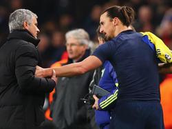 Halten immer noch engen Kontakt: José Mourinho (l.) und Zlatan Ibrahimović