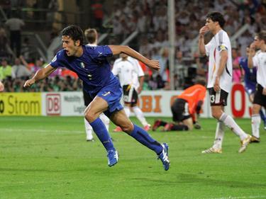 Fabio Grosso schrieb Geschichte als er Italien im Halbfinale 2006 ins Endspiel schoss