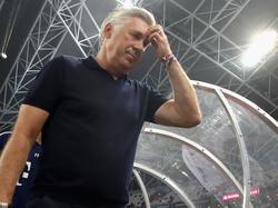 Bayern-Coach Carlo Ancelotti muss sich Gedanken machen