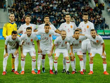 Once titular de España ante Rusia en el último amistoso. (Foto: Getty)