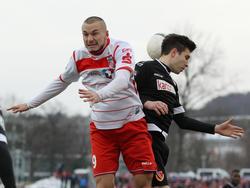 Simon Brandstetter wird beim Duell mit Holstein Kiel fehlen