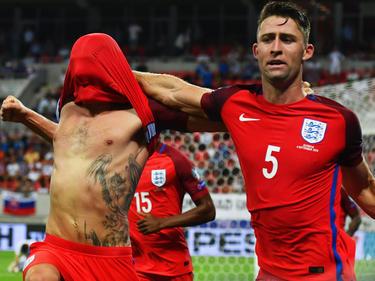 England bejubelt den Siegtreffer in der fünften Minute der Nachspielzeit
