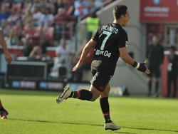 Chicharito war mit drei Treffern der Matchwinner