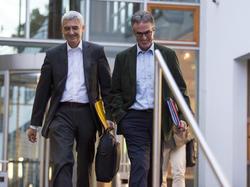 Stefan Hans (li.) und der DFB haben ihren Rechtsstreit beigelegt