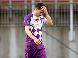 Mirnes Becirovic sah binnen zwei Monaten zwei Mal Rot in Diensten von Austria Klagenfurt