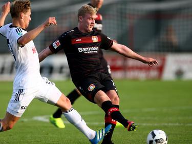 Julian Brandt (r.) steht auf der Liste des FCB