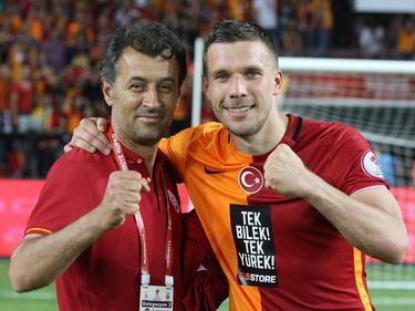 Lukas Podolski steht bald wieder auf dem Platz