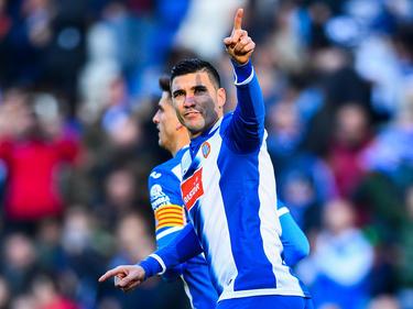 Reyes anotó sobre la bocina para dar el triunfo a los catalanes. (Foto: Getty)