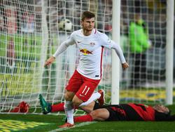 Timo Werner von RB Leipzig ist beim FC Liverpool heiß begehrt